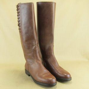 Salvatore Ferragamo Riding Boots Italy US 5.5 6